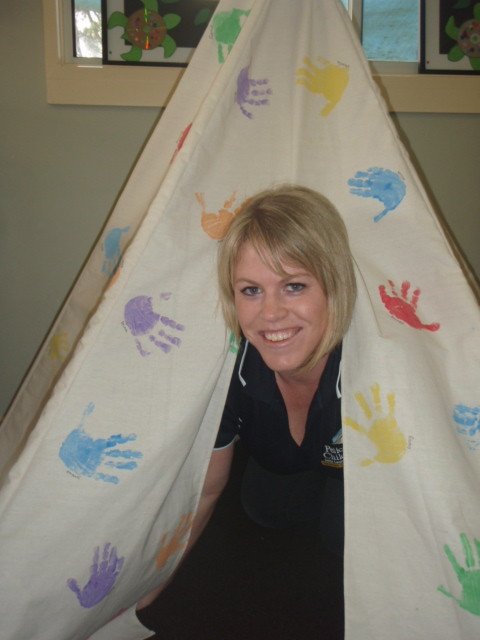 Craft Corner Teepees Pelican Childcare